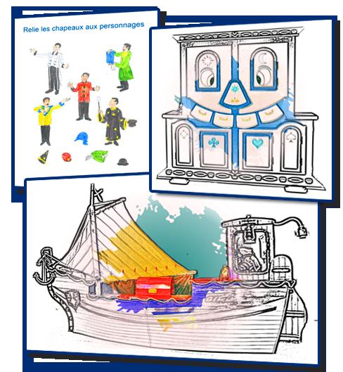 Coloriages et Jeux